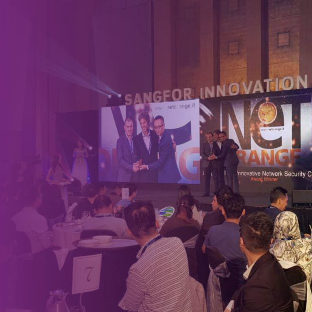 NETORANGE PREMIATA AL SANGFOR INNOVATION SUMMIT 2019